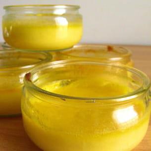 petits pots au citron