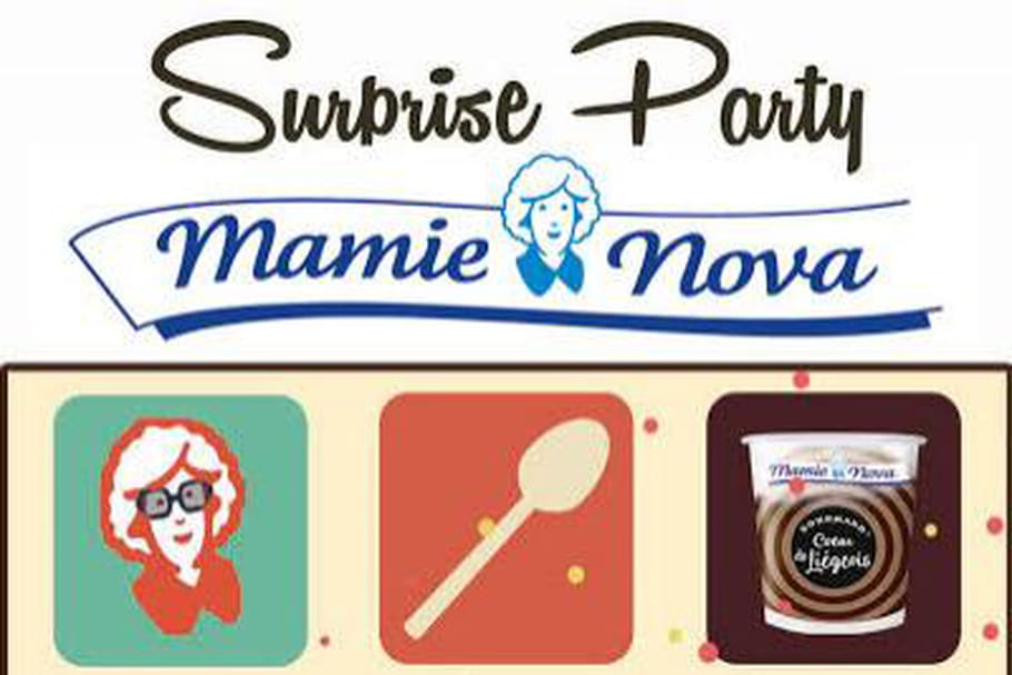 Mamie Nova organise une grande Surprise party