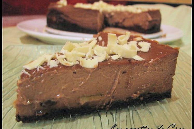 Cheesecake au chocolat
