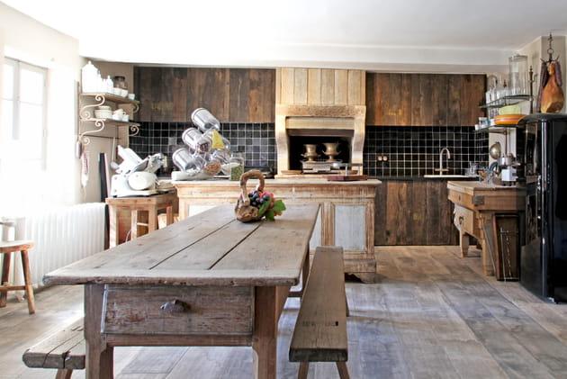 Une cuisine d'été