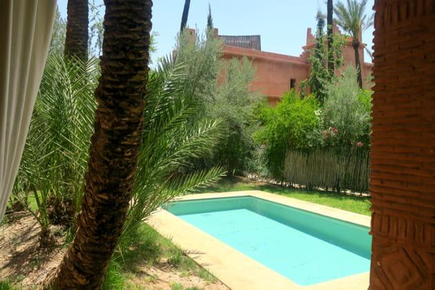 Les piscines privatives des villas