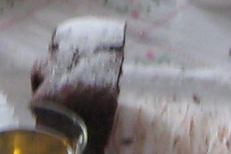 Gâteau sans oeuf au cacao