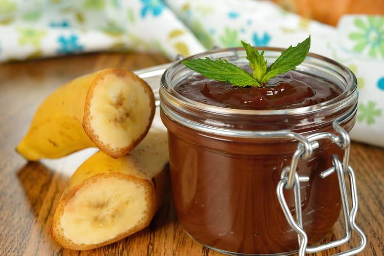 Mousse chocolat-banane