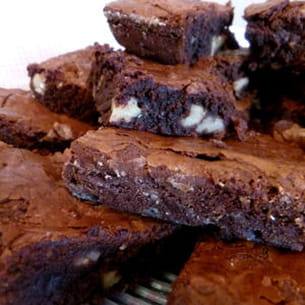 brownie new-yorkais