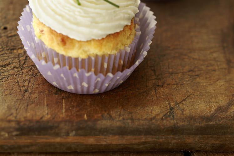 Cupcakes au jambon cru & courgettes
