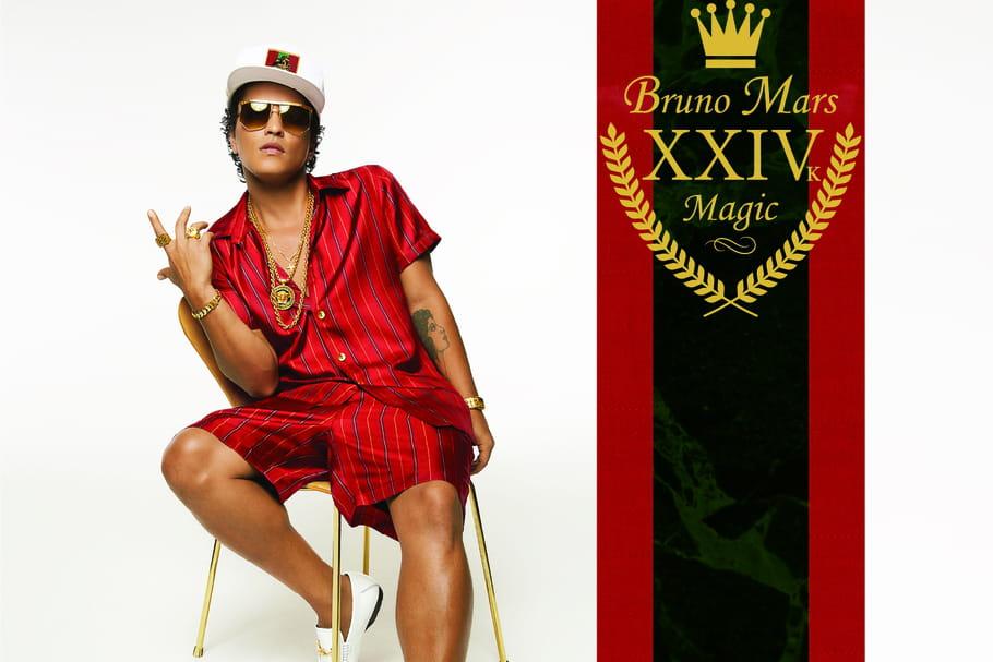 "Bruno Mars: ""24K Magic"" nous laisse sceptique"