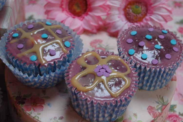Cupcakes à la confiture de lait