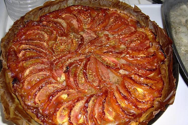 Tarte à la tomate aux saveurs de Provence