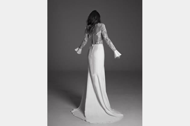 Robe de mariée Endora, de dos