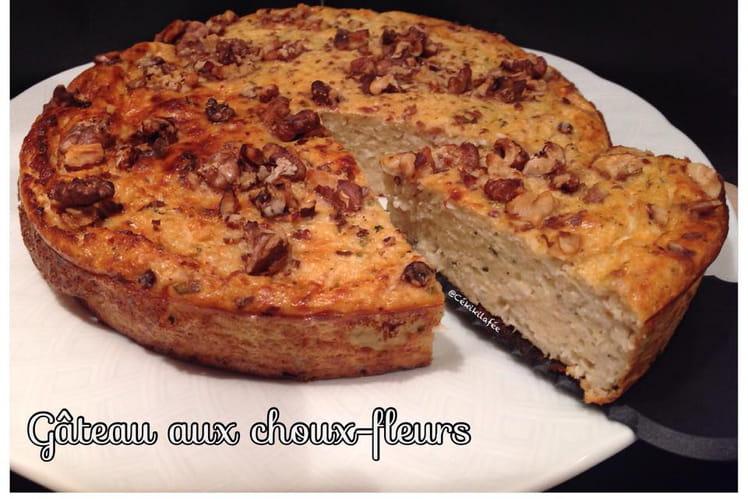 Gâteau-tarte aux choux-fleurs