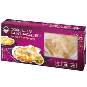 coquilles saint-jacques sauce champagne