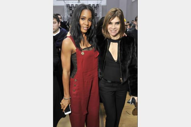 Kelly Rowland et Carine Roitfeld