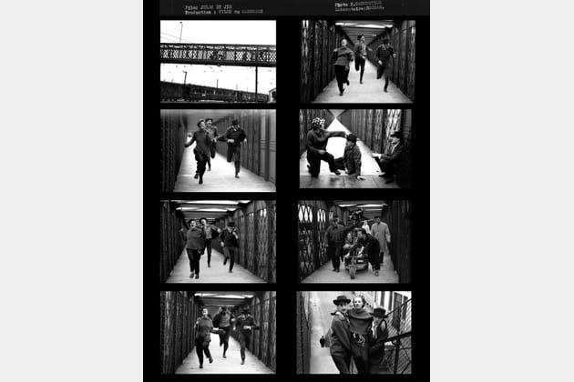 """Planche contact """"Jules et Jim"""" de François Truffaut"""
