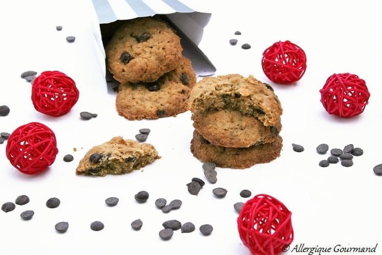 Cookies corn flakes et pépites de chocolat, Bio, sans œufs ni gluten