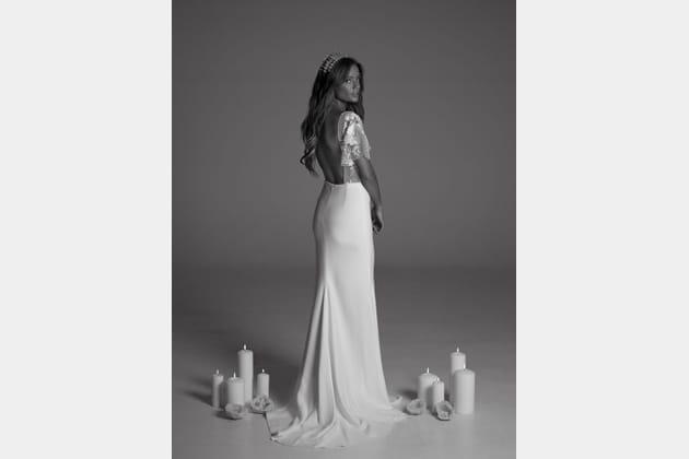 Robe de mariée Serena, de dos