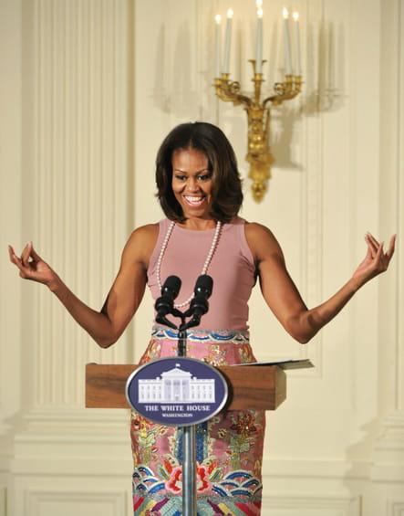 Michelle Obama le 5novembre 2013