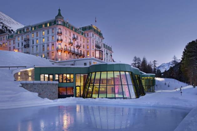 St. Moritz et ses incroyables hôtels