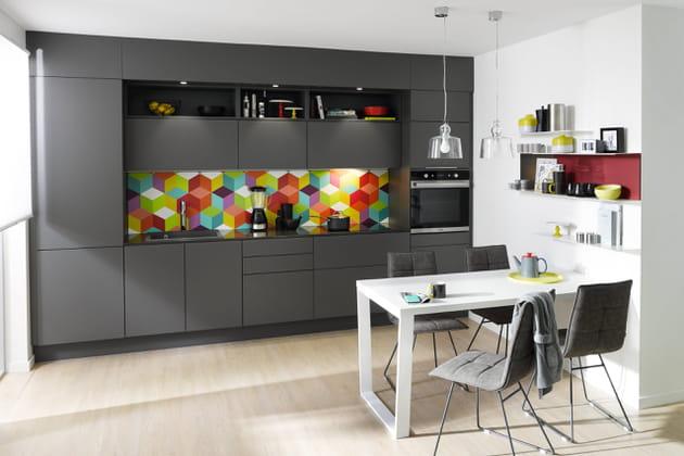 Cuisine trend soft grey de cuisinella - Cuisinella paris 11 ...