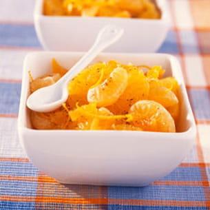 salade d'oranges et clémentines