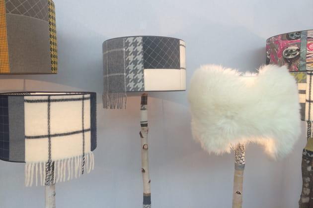 Les lampadaires Arbres Voyageurs Petites séries entre illuminées par Stéphanie Calemard
