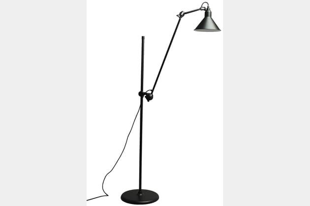Le lampadaire industriel Gras