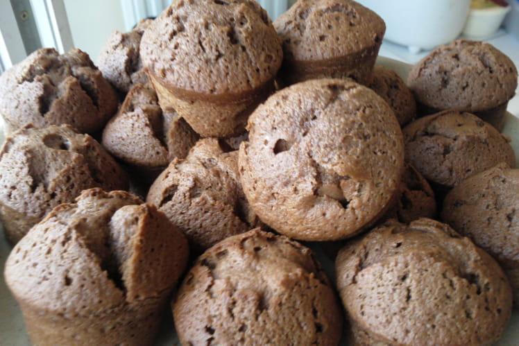 Mini-muffins au chocolat au lait au caramel