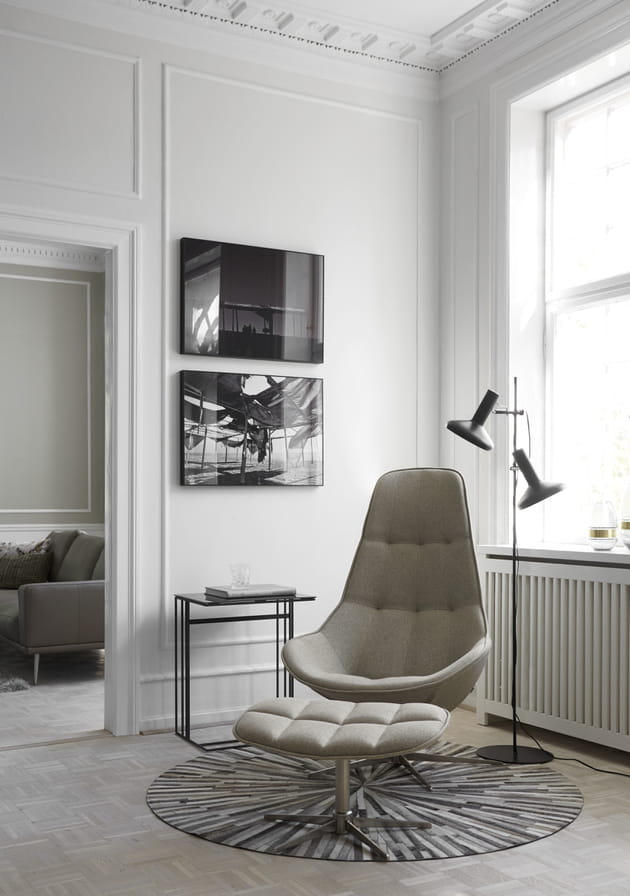 fauteuil boston de boconcept. Black Bedroom Furniture Sets. Home Design Ideas