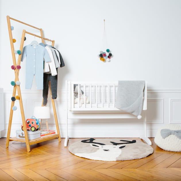 Tapis Cerf par Un tapis à Paris x Baby Alpaga