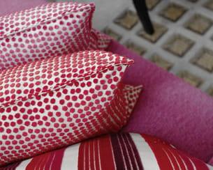 textiles 'dora' et 'amaya' de boussac