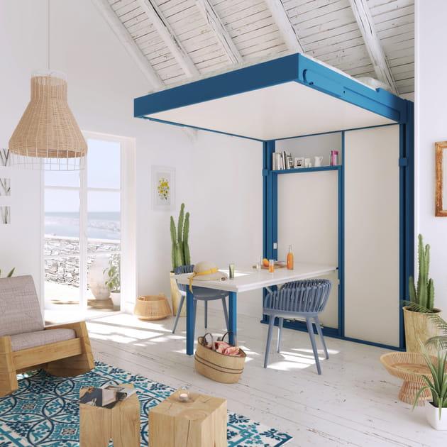 lit table manger dkl par guillaume parent pour espace loggia. Black Bedroom Furniture Sets. Home Design Ideas