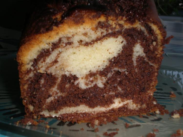 Recette De Cake Marbre Au Yaourt Et Chocolat La Recette Facile