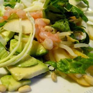 salade chou au bleu