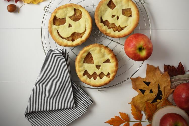 Tourte aux pommes d'Halloween aux Pink Lady®