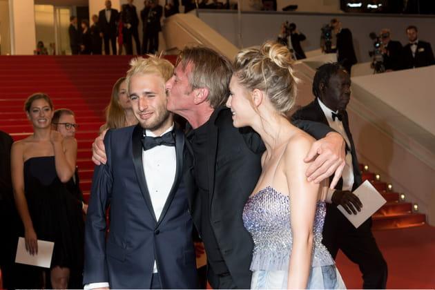 Sean Penn n'a pas été avare en baisers...