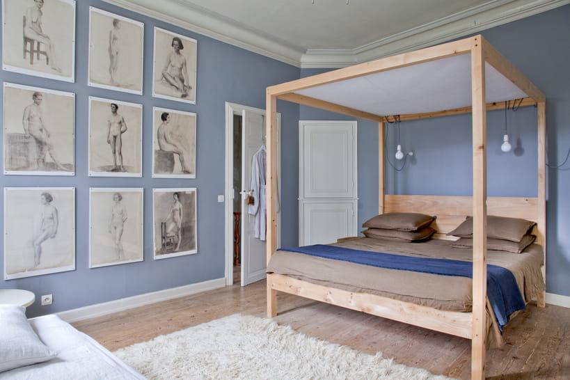un ciel de lit pour gagner en romantisme dans la chambre d 39 adulte. Black Bedroom Furniture Sets. Home Design Ideas