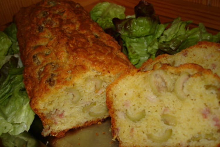 Cakes olives-lardons