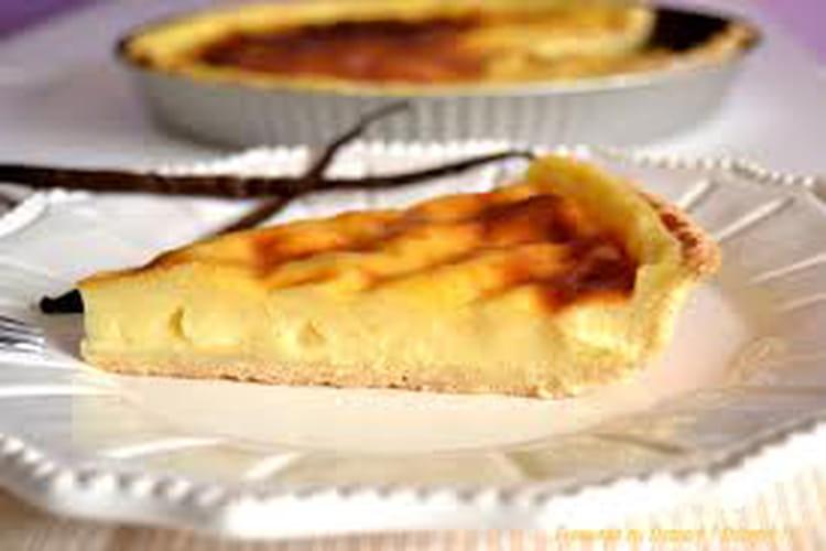 Flan pâtissier à la crème de réglisse