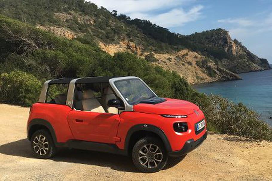 J'ai testé pour vous... la nouvelle E-Méhari de Citroën