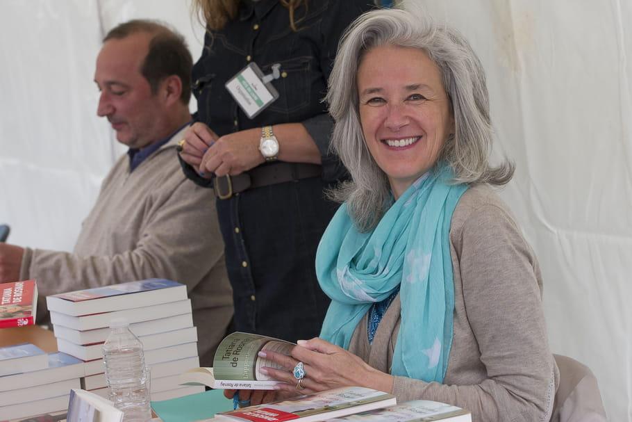 """Tatiana de Rosnay : """"Si je n'ai pas de livre, je suis très malheureuse"""""""