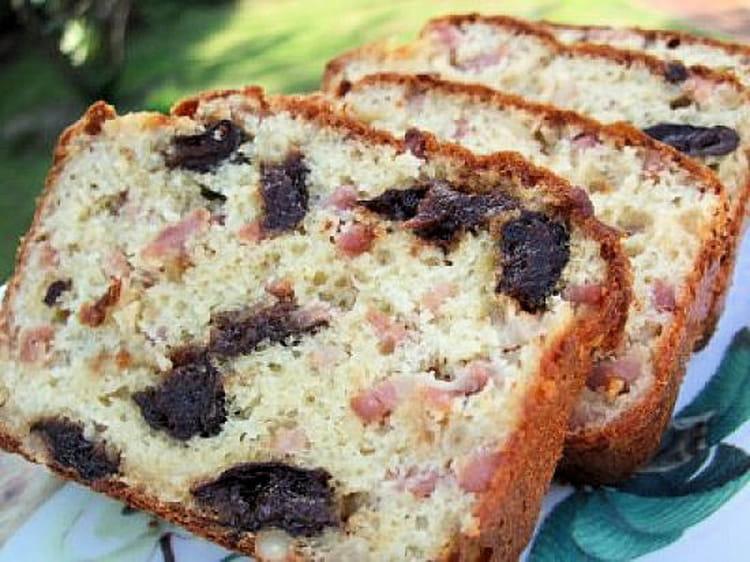 Recette De Cake Lardons Pruneaux