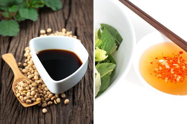Sauce soja ou Nuoc-Mâm?