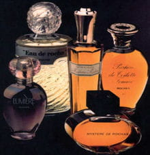 parfums rochas.