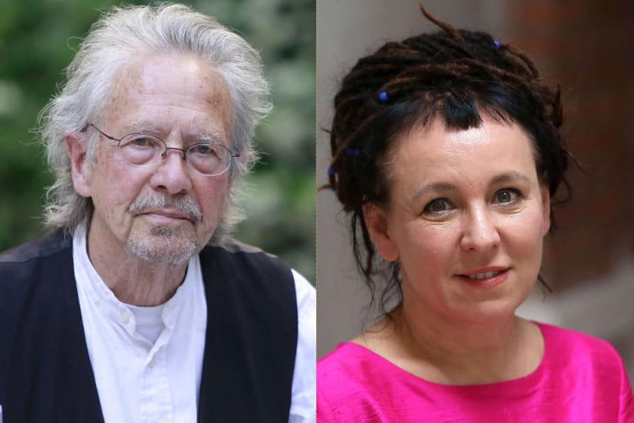 Les prix Nobel de littérature 2018et 2019sont...