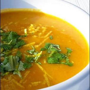 velouté de carotte coco