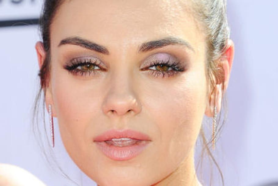 Mila Kunis sans maquillage pour le Glamour américain
