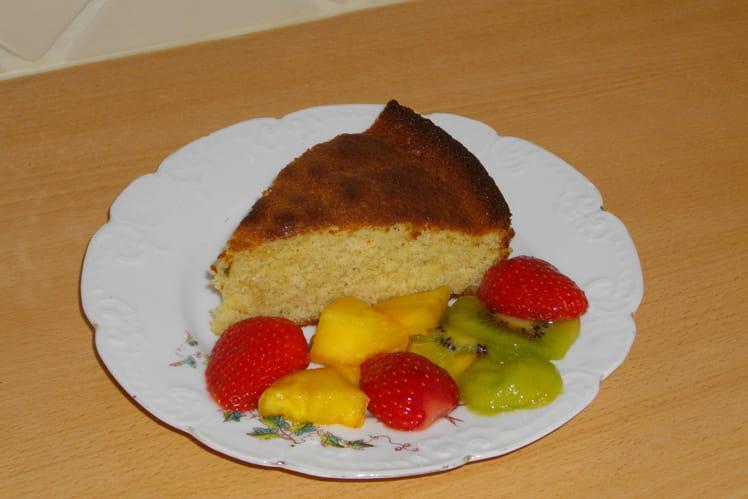 Gâteau à la ricotta façon ti punch