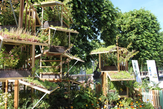 Un jardin urbain