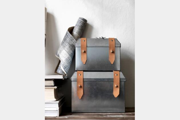 Coffre acier Ryssby d'IKEA