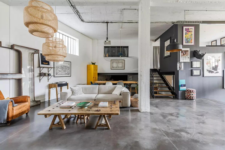 Salon industriel: inspirations et conseils déco pour le créer