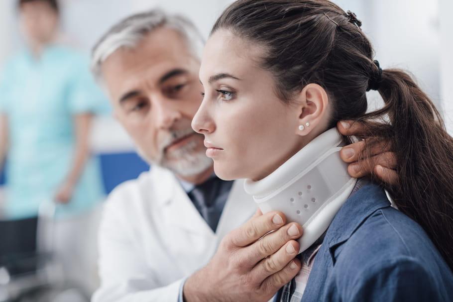 Fracture des cervicales: traitement, opération, conséquences